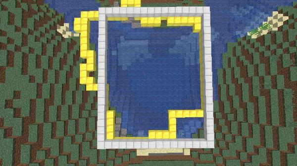 水槽の範囲