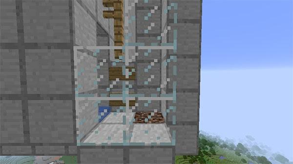 水槽の出口部分
