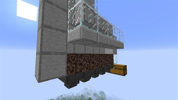 ガラスとハーフブロックの蓋
