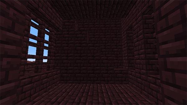 階段の設置された壁