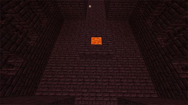 溶岩の井戸の部屋