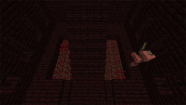 階段脇のネザーウォート