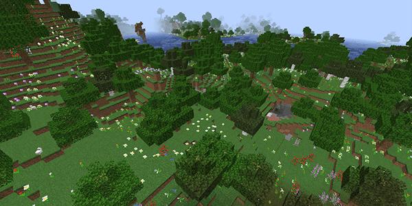 花の森バイオーム