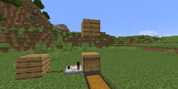 養蜂箱の上のブロック