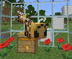 マイクラのミツバチ