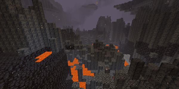 玄武岩デルタ地帯
