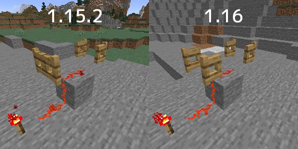1.15.2と1.16の動力の伝わり方の違い2
